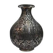 گلدان قلم زنی  هنر اصفهان  30 صورت