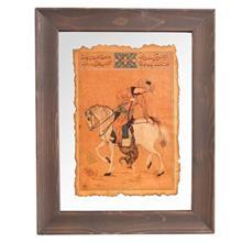 تابلوی نگارگری جمع کهنهکار کد 153015 طرح شکار