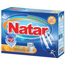 Natar All in One Orange Dishwasher Tablet Pack of 28