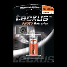 tecxus CR 123 A 1500 mAh Battery