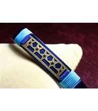 دستبند چرم زنانه کد110 گالری سان سیلور