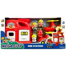 Keen Way Fire Station Toys