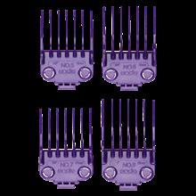 ست شانه ماشین اصلاح اندیس Andis 01415 Large Nano-Silver Magnetic Comb Set