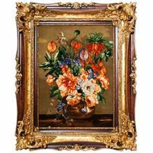 تابلو فرش گالري سي پرشيا طرح گلهاي واژگون کد 901101