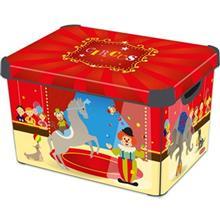 جعبه دکوری دردار کرور مدل Circus سایز بزرگ