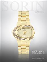 ساعت مچی زنانه سورین L0418 (طلایی صفحه:طلایی)