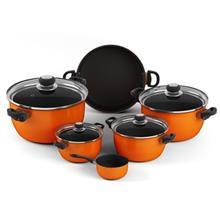 Uranus Nastaran Sonbadei 10 Pieces Cookware Set