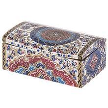 جعبه استخواني اثر بهشتي مدل کبريتي طرح تذهيب