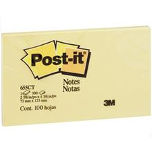 کاغذ يادداشت چسب دار پست ايت کد 655 - بسته 100 عددي