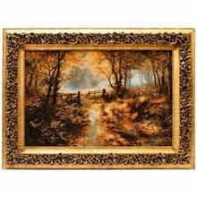 تابلو فرش گالری سی پرشیا طرح جنگل کد 901076