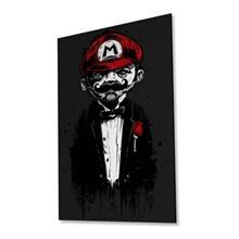 تابلوی ونسونی طرح Super Mario Father سایز 30x40