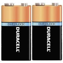 Duracell Duralock Alkaline 9V Battery
