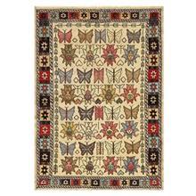 فرش دستبافت قديمي دو و نيم متري کد 142980