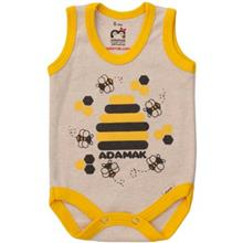 Adamak Bee Under Button Singlet