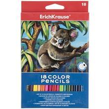 مداد رنگي 18 رنگ اريش کراوزه