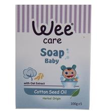 Wee Cotton Seed Oil Baby Soap 100gr
