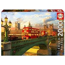پازل 2000 تکه ادوکا مدل Westminster Bridge London