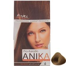 کيت رنگ مو آنيکا سري Pro Keratin مدل Natural شماره 6