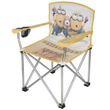 Tourist Minions Baby Folding Chair