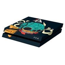برچسب افقی پلی استیشن 4 ونسونی طرح Mexican Skull