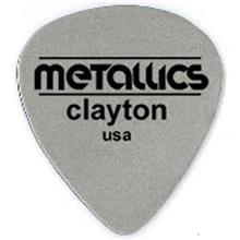 پيک گيتار الکتريک کلايتون مدل نازک Steel Metallics بسته سه عددي