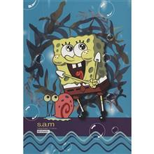 Sam Sponge Bob Design Homework Notebook