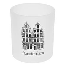 Amsterdam Glass Candle Holder