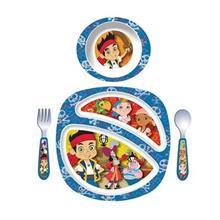 ست 4 تکه غذاخوری فرست یرز The First Years Boy 4 Pieces Y10250 Feeding Set