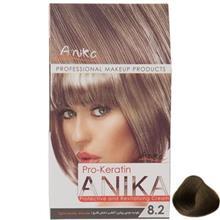 کيت رنگ مو آنيکا سري Pro Keratin مدل Smoky شماره 8.2