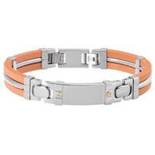 دستبند الیور وبر مدل Strength Steel Crystal 67009