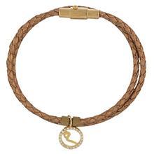 دستبند طلا کیا گالری مدل حرف میم