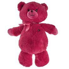 عروسک پاليز مدل Bear Pink Bow ارتفاع 50 سانتي متر