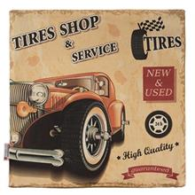 Yenilux Tires Shop And Service Cushion Cover