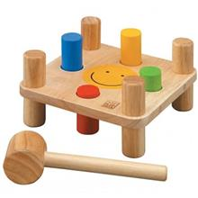 Plan Toys Hammer Peg Educational Game