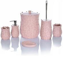 اکسسوری حمام و دستشویی 6 پارچه کنتراست مدل 7216 P