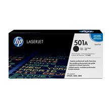 HP 501A Black Original LaserJet Toner Cartridge(Q6470A)