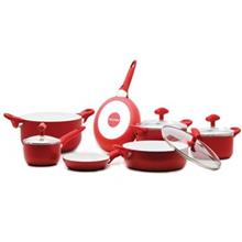 Pedrini Vanilla cookware Set 11Pcs