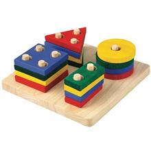 Plan Toys Geometric Sorting Board Educational Game