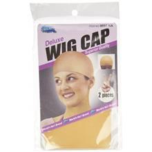 کلاه طاسی مدل DREAM Deluxe Wig Cap Jumbo Black 2 pc Model: 060