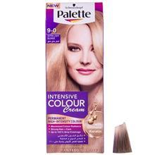 کیت رنگ مو پلت سری Intensive Colour Cream مدل Extra Light Blonde شماره 0-9