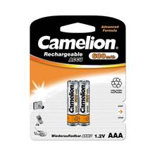 Camelion AAA Advanced Formula 600 mAh ReChargeable 2Pics Battery