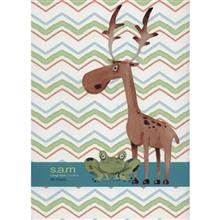 Sam Deer and Frog Design Homework Notebook