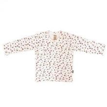 تی شرت دخترانه آستین بلند پاریز (Pariz) طرح شکوفه