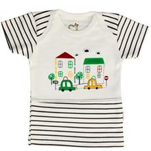 Adamak Car Baby T Shirt With Short Sleeve