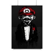 پوستر ونسونی طرح Super Mario Father سایز 30x40