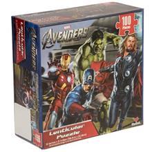 Cardinal Marvel The Avengers Puzzle 100 Pcs