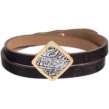 دستبند طلا 18 عيار تاج درسا مدل 203
