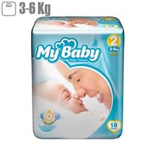 My Baby Chamomile Size 2 Diaper Pack of 18