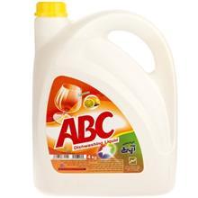ABC Lemon Dishwashing Liquid 4 Liter