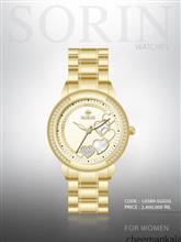ساعت مچی زنانه سورین L0589-SG02G ( طلایی -صفحه : طلایی )